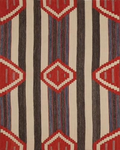 Here's a piece from our Flatweave Navajo collection. This rug was also features in Interiors Magazine this month!