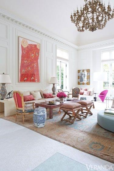 Living rooms we love: Oushak edition