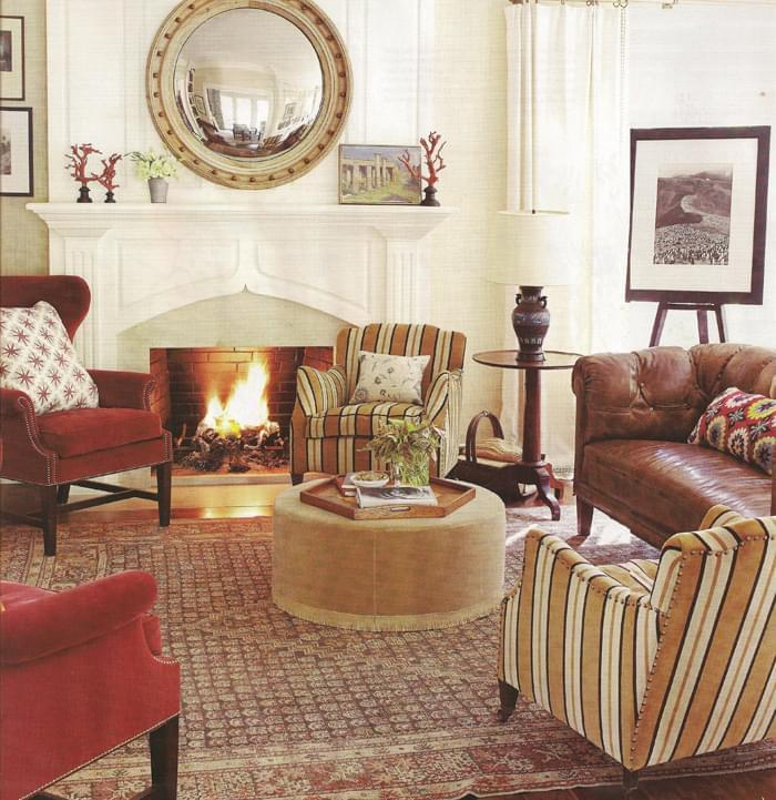 An Antique Northwest Persian rug for the living room