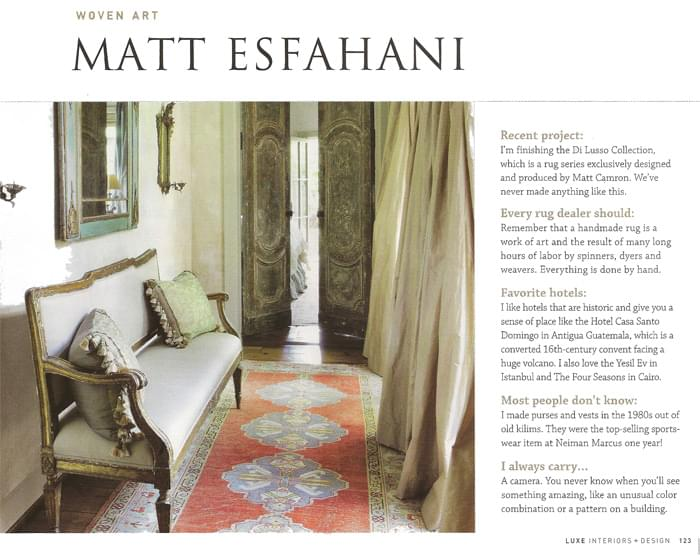 Luxe Magazine Article - June 2011