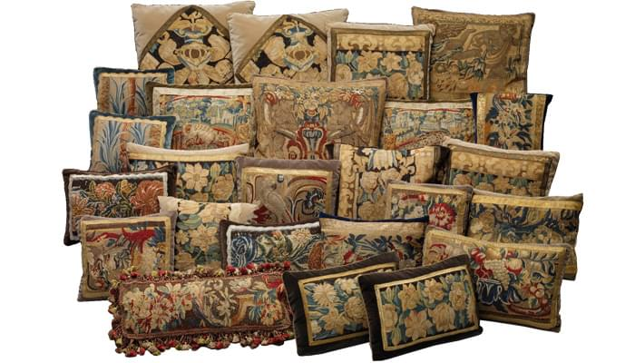 Antique Tapestry Pillows