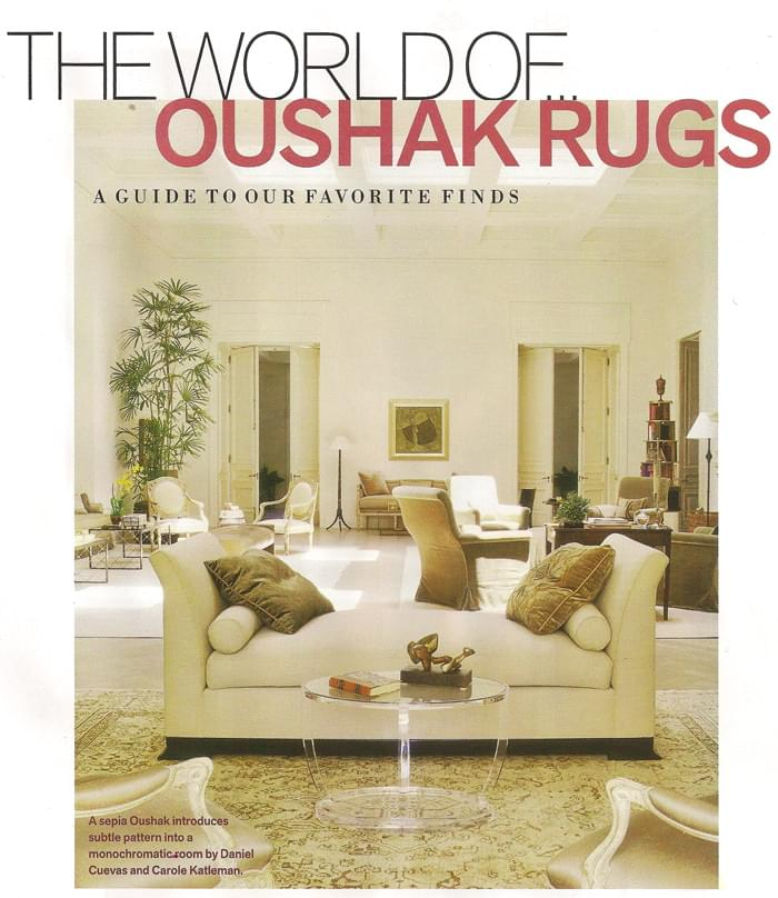 The World of Oushak Rugs
