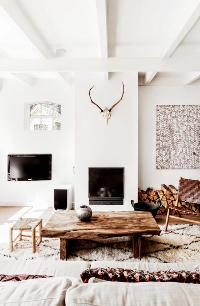 Winter White Living Room
