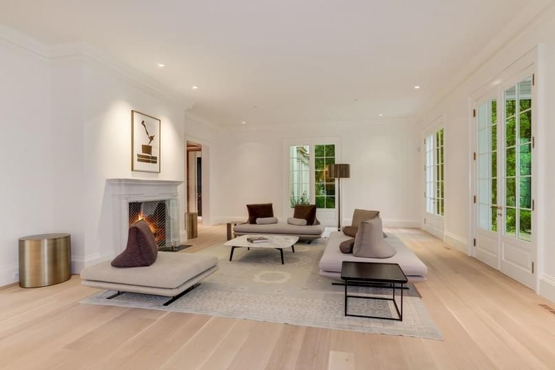 A stately home in Washington D.C. rich in Matt Camron Rugs