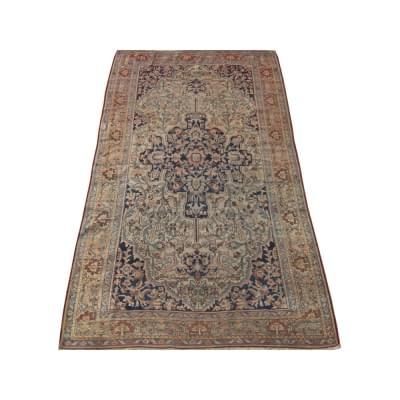 Antique Persian Farahan Sarouk Rug