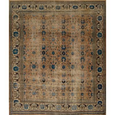 Antique  Worn Doroush Rug