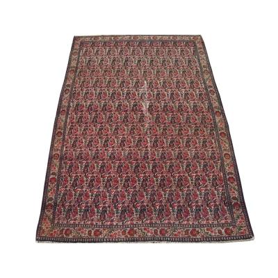 Antique Persian Worn Senneh - Malayer Rug