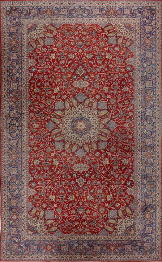 Antique  Najafabad Rug