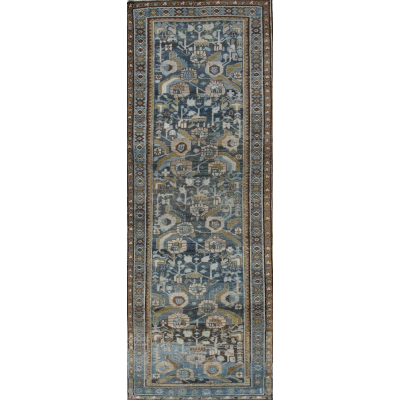 Semi-Antique Persian Hamedan Rug