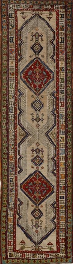 Antique Persian Sarab Rug