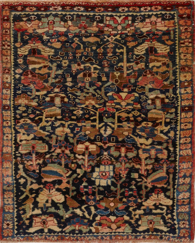 Antique Persian Bijar Rug. View Fullscreen