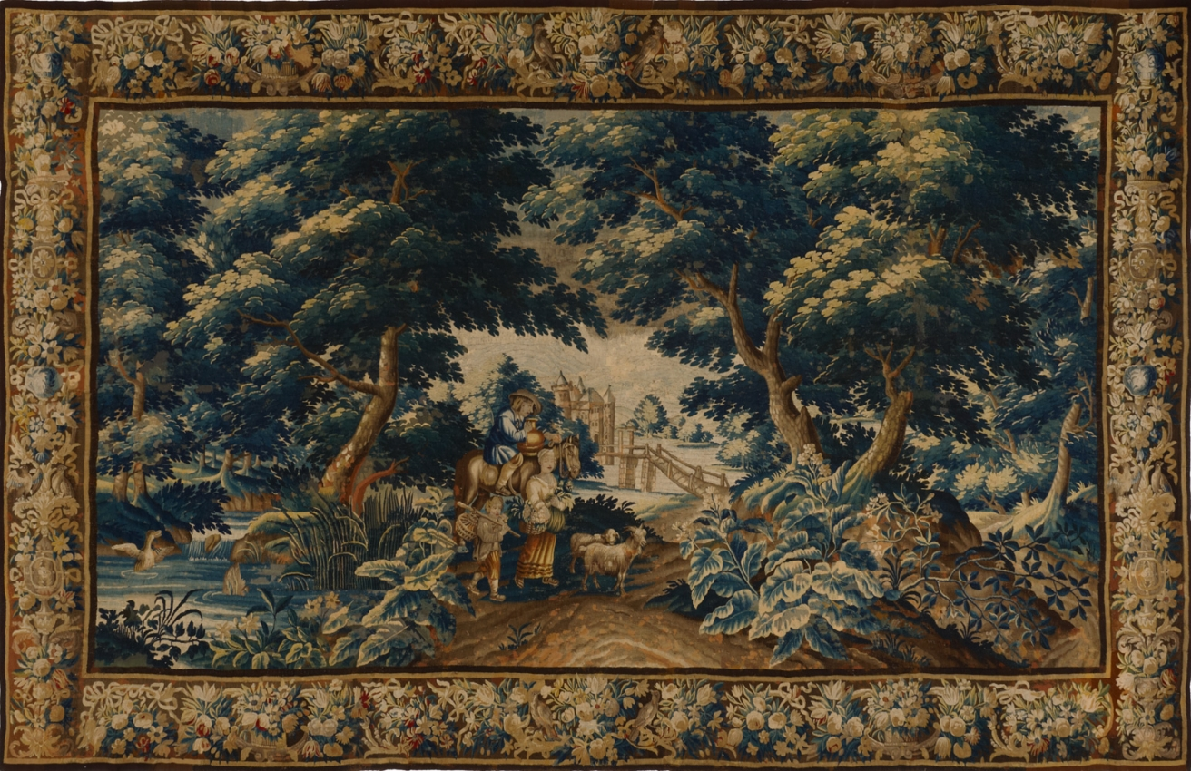 Antique Tapestry Tapestries 11809ha Matt Camron Rugs