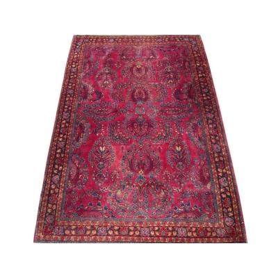 Antique Oriental Sarouk Lilihan Rug