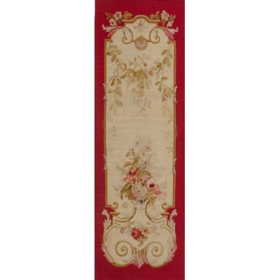 Antique European Aubusson Panel Rug
