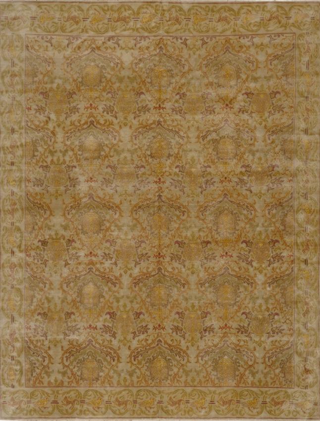 Tibetan Silk Rug