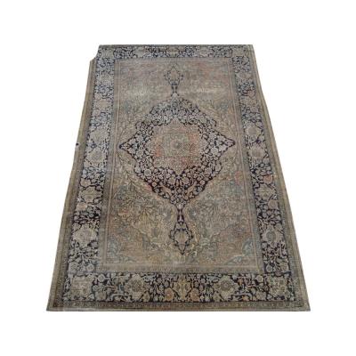 Antique Persian Mohtasham Kashan Rug