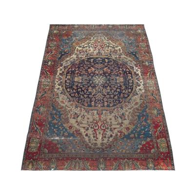Antique Persian Mohtasham Rug