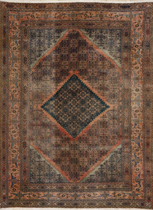 Antique Oriental Khorassan Rug