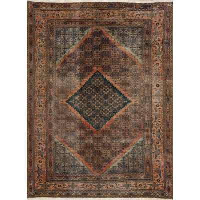 Antique Oriental Khorassan Rug