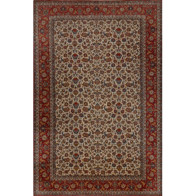 Semi-Antique  Najafabad Rug