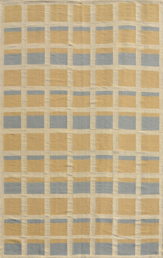 Wool Swedish Flat Weave Rug