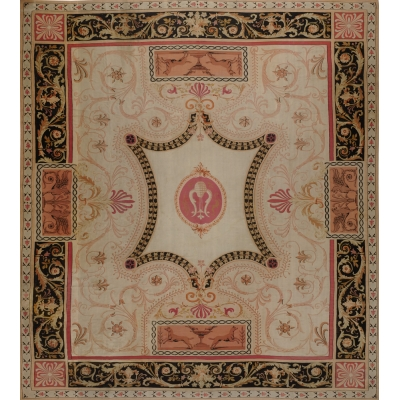 rug pure silk chinese aubusson carpets rugs oriental