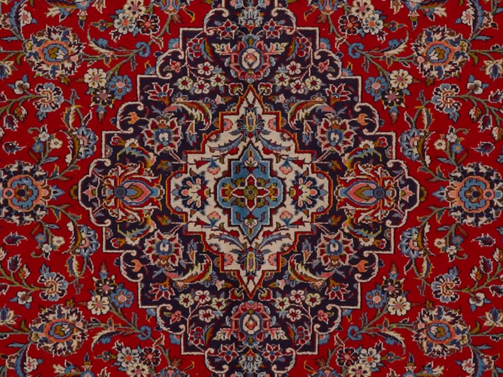 Kashan Persian Rug Roselawnlutheran