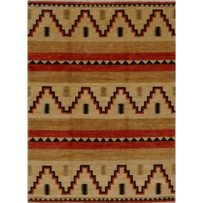 Gabbeh-Navajo Rug