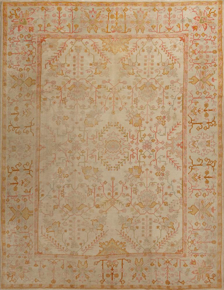 Antique Oushak Rug. View Fullscreen