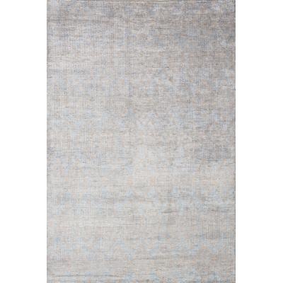 Distressed Bamboo Silk Rug