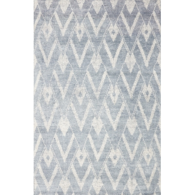 Distressed Bamboo Silk Rug