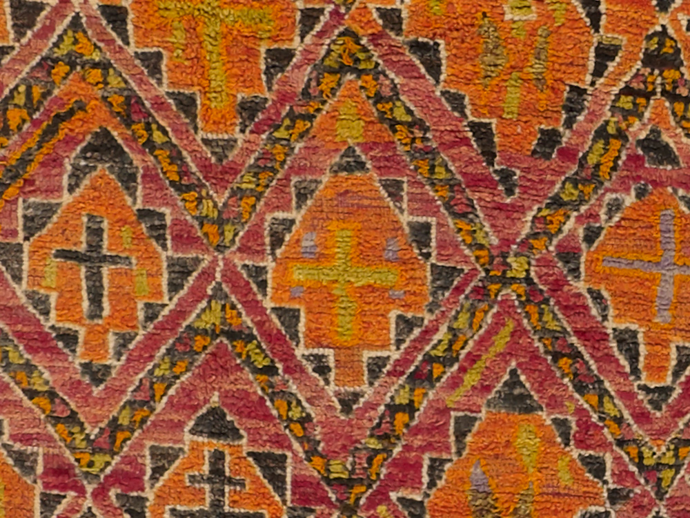 Vintage Moroccan Rug. View Fullscreen