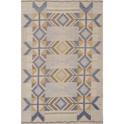Scandanvian Flat Weave Rug
