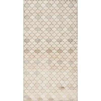 Semi-Antique  Distressed Khotan Rug