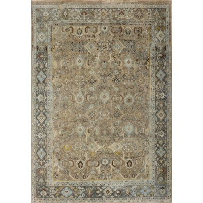 Semi-Antique  Mahal Rug