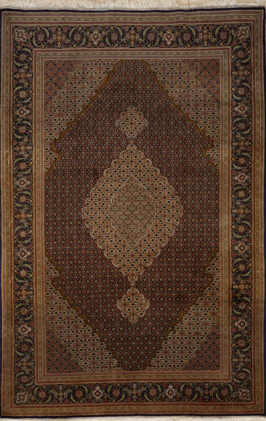 Semi-Antique  Tabriz Rug