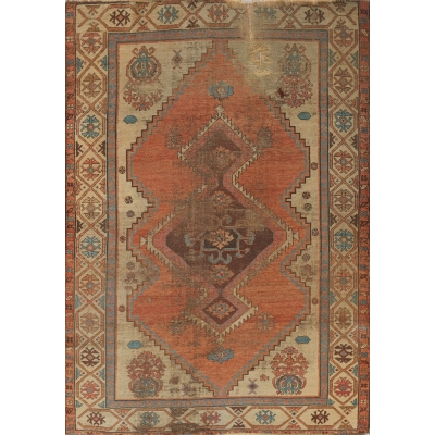 Antique  Bakshayesh Rug