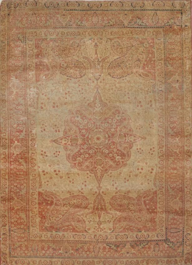 Antique  Tabriz Hajalil Rug