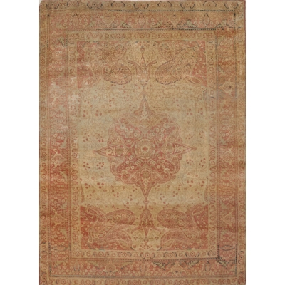 Antique  Tabriz Hajalil Rug
