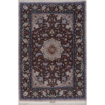 Antique  Esfahan Rug