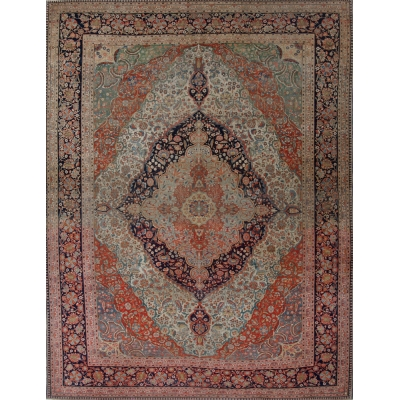 Antique  Mohtasham Rug