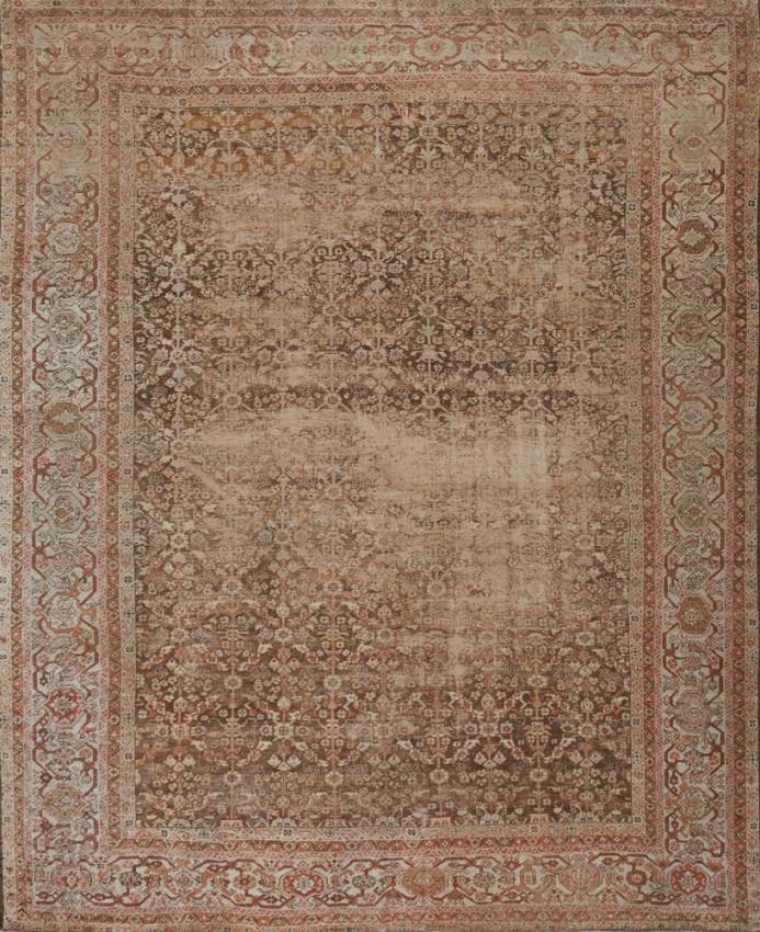 Antique  Sultanabad Rug