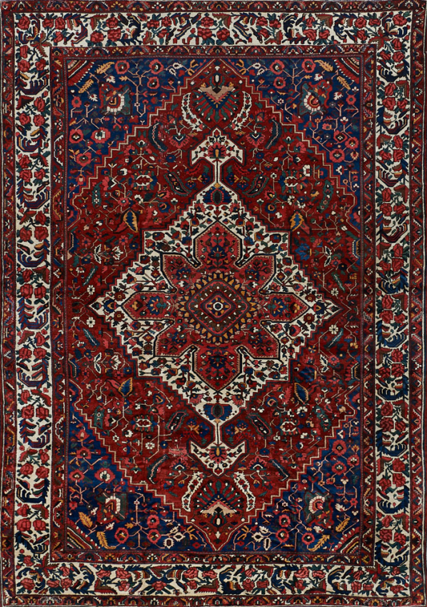 Antique  Bakhtiari Rug