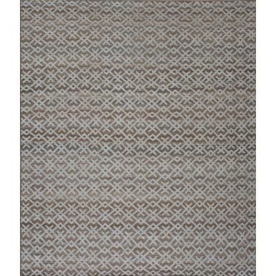 Custom Wool and Silk Hi lo Rug