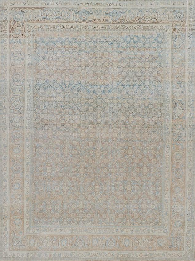 Antique  Tabriz Rug