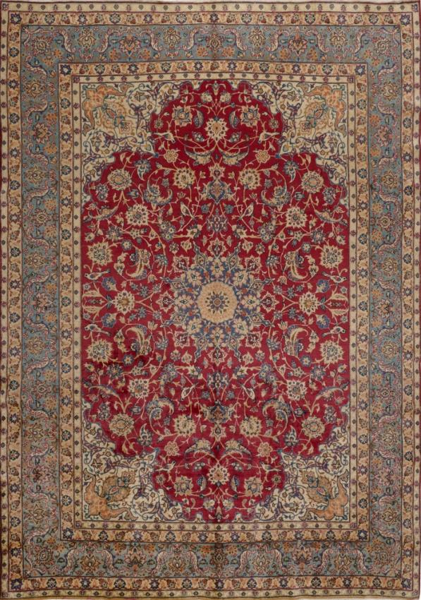 Semi-Antique  Yazd Rug