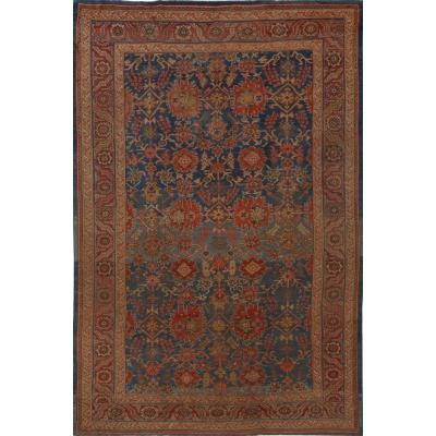 Antique Persian Bakshayesh Rug