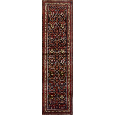 Antique Persian Farahan Rug