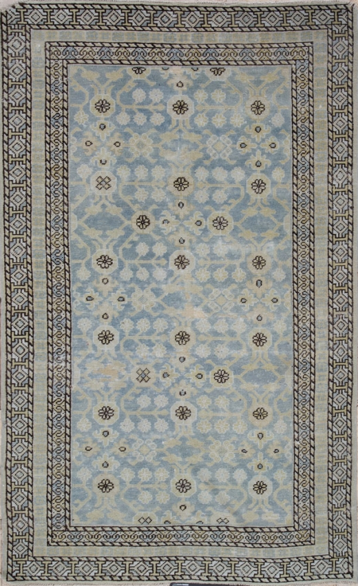 Antique Oriental Khotan Rug