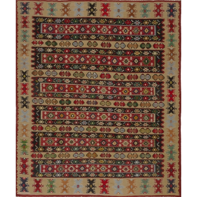 Semi-Antique  Kilim Rug